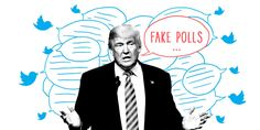 "Trump Tweets ""Any Negative Polls Are Fake News"""