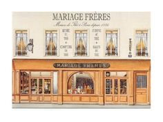 Mariages Freres, Salon de The, Paris