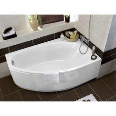 Baignoire d 39 angle mod le family for Mini baignoire deco