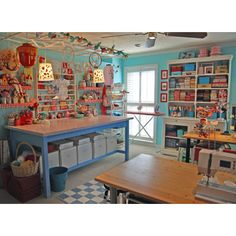 Great sewing space