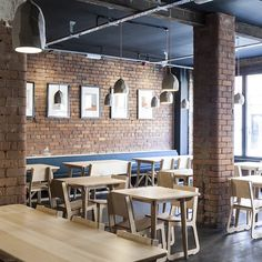 The interior has been reimagined by designer and maker Peter Masters with fixtures from ceramicist Joe Hartley; everything is custom made, eco-friendly and sourced locally. Masters' interior now shares much with the exterior, as he has exposed masses of the region's signature red brick...