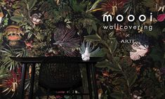 Moooi Wallcovering Extinct Animals | Collections | Arte wallcovering