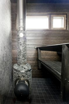 Housing fair in Finland . Mobile Sauna, Spa, Saunas, Hot Tubs, Finland, Scandinavian, Swimming Pools, Bathroom, Architecture