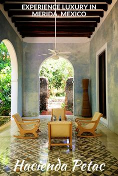 Redefining luxury at the Hacienda Petac in Merida, Mexico: cozy beds, superb staff and the best food you will ever find in the Yucatan Peninsula can be found at this luxury, yet well priced, hacienda.