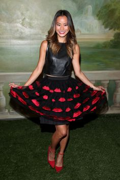 Jamie Chung attends the alice + olivia by Stacey Bendet Spring 2015 NYFW Presentation at The Pierre Hotel on September 8, 2014 in New York City.  (Photo by Rob Kim/Getty Images  for alice + olivia by Stacey Bendet)