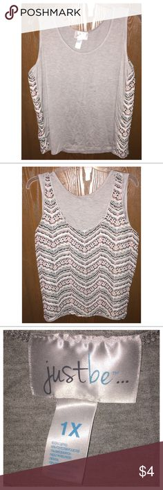 Women's Reversible Tank Top Brand new without tags, never wore and does not have any flaws! Just Be Tops Tank Tops