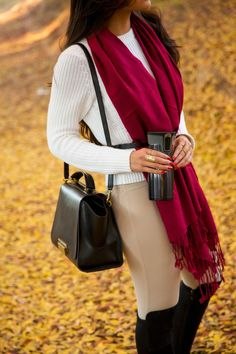 When the days turn short and chilly, a travel mug becomes a necessity! I've partnered with Contigo® to share with you the perfect travel mug. Formal Fashion, Global Style, Travel Mugs, Party Wear, Personal Style, Scarves, Fashion Dresses, Dressing, Elegant