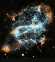 The death of a star taken by Hubble telescope. #Imgur