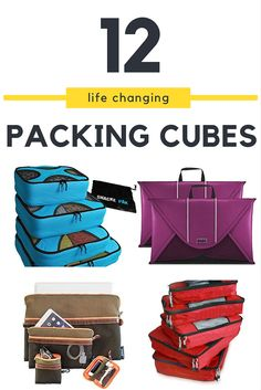 Ultimate Guide to The Best Packing Cubes For Travel 2016 Ultimate Guide to The…