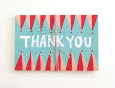 Thank You Postcards  Set of 10 by shopannshen on Etsy, $10.00