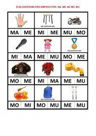 ELBLOGDESAMI.ORG-EMPIEZAPOR-MA-001 Beginning Sounds, Baby Learning, First Grade, Kindergarten, Spanish, Teacher, Education, Aiko, Psp