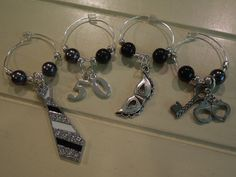 GREYsessed Wine Charms by GREYsessed on Etsy, $26.00