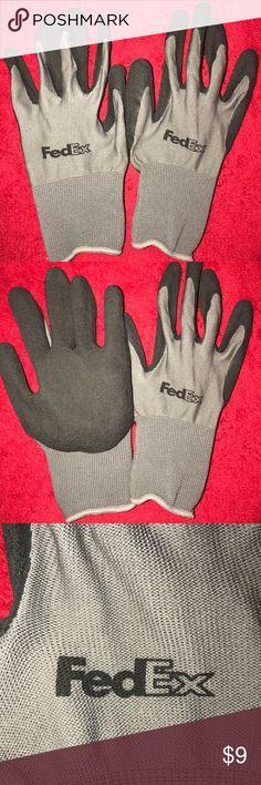 Fedex Gloves Fedex Gloves  Durable Palm Grip Unworn Work Gloves Fedex Accessories Gloves & Mittens