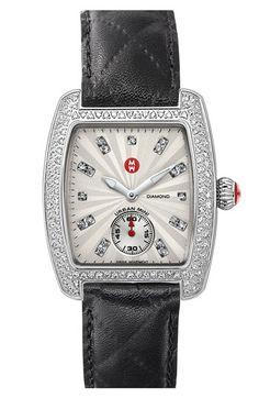 MICHELE 'Urban Mini Diamond' Customizable Watch  available at #Nordstrom