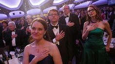 Journalists Didn't Miss The Celebrity Glitz At White House Correspondents' dinner. #FACTS MAY 1, 2017.  News organizations that previously jockeyed for Hollywood A-listers instead invited more of their own rank-and-file reporters and producers. Some outlets, like HuffPost and CNN, nodded toward the future generation of the craft by filling tables with high school and college journalists.  Longtime attendees remarked how the vibe was different and more reminiscent of gatherings from decades…