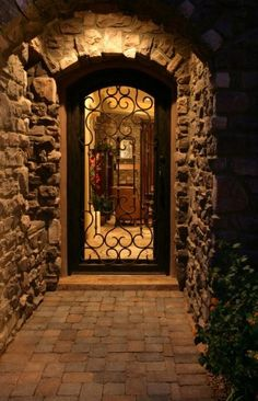 this would be an amazing entry way, but maybe with some full length side windows along the door