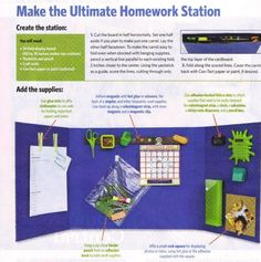 Ultimate Homework Station