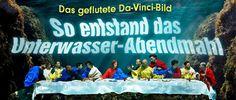 Das geflutete Da-Vinci-Abendmahl: So entstand das faszinierende Unterwasser-Foto http://www.bild.de/lifestyle/2015/unterwasserfotografie/unterwasser-foto-letztes-abendmahl-gaby-fey-39990966.bild.html