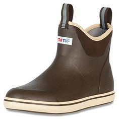 online shopping for XTRATUF Performance Series 6 Men?s Full Rubber Ankle Deck Boots from top store. See new offer for XTRATUF Performance Series 6 Men?s Full Rubber Ankle Deck Boots Mens Waterproof Boots, Fishing Boots, Ice Fishing, Fishing Reels, Ankle Boots Men, Men's Boots, Boots Women, Deck, Tan Guys
