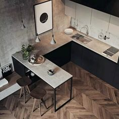 35 Amazing Small Apartment Kitchen Ideas When doing a small kitchen design for an apartment, either a corridor kitchen design or a line layout design will […] Small Apartment Kitchen, Home Decor Kitchen, Interior Design Kitchen, Home Kitchens, Kitchen Ideas, Kitchen Designs, Small Kitchens, Kitchen Small, Small Apartment Design