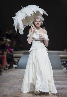Beauty has no age Yohji Yamamoto, 'Cutting Age' Fashion Show in Berlin, 25th April 2013
