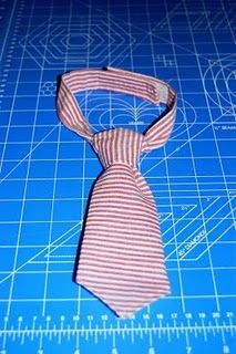 baby tie tutorial (for our church dedication outfit?)