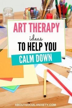 Are you feeling anxious? Learn how art therapy for anxiety can help you express emotions and connect with others while creating art. Art Therapy Projects, Art Therapy Activities, Therapy Ideas, Play Therapy, Coping Skills, Social Skills, Social Work, Social Anxiety Symptoms, Creative Arts Therapy