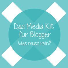 Das Media Kit für Blogger: Was muss rein?