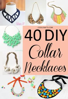 40 DIY Collar Neckla