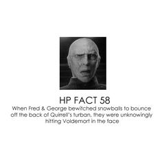 harry potter facts. this is hilarious.