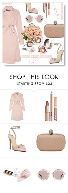 """Rock In Rochas..."" by desert-belle ❤ liked on Polyvore featuring Rochas, Charlotte Olympia, Alexander McQueen, Garance Doré, Martha Stewart, Miu Miu, women's clothing, women's fashion, women and female"