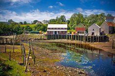 Fisherman Town (New Brunswick) Vacation Memories, Vacation Places, Vacation Trips, Vacation Ideas, Vacations, New Brunswick Canada, Prince Edward Island, Largest Countries, Canada Travel
