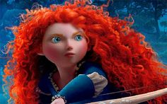 (Disney/Pixar)Disney's Brave is already a box office blockbuster and we couldn't help but be inspired by Princess Merida and her gorgeously untamed curls. In fact, it took the Pixar crew two and a h. Disney Pixar, Disney Films, Disney Characters, Disney Princesses, Disney Cruise, Female Characters, Walt Disney, Princesa Merida Disney, Princess Merida