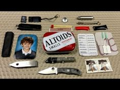 Urban Altoids Mini EDC Tin http://rethinksurvival.com/urban-altoids-mini-edc-tin-video/