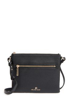 3c9c59534e2b CELINE DION - Adagio Leather Crossbody Bag