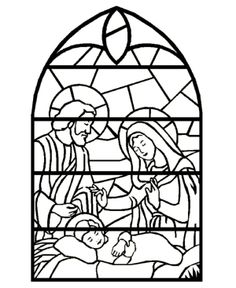 christmas nativity   Nativity Coloring Pages