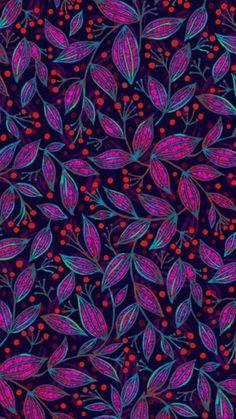Leaves Wallpaper December 09 2019 at Motifs Textiles, Textile Patterns, Textile Prints, Print Patterns, Flower Wallpaper, Wall Wallpaper, Pattern Wallpaper, Wallpaper Backgrounds, Leaves Wallpaper