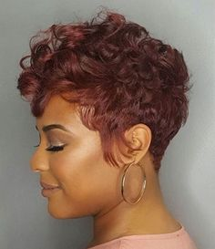 Gorgeous haircolor on this pixie queenstylista phillyhair redhair shorthair voiceofhair Short Sassy Hair, Cute Hairstyles For Short Hair, Pretty Hairstyles, Short Hair Cuts, Straight Hairstyles, Short Hair Styles, Pixie Cuts, Love Hair, Gorgeous Hair