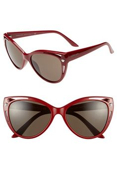 Versace 'Pop Chic' 57mm Cat Eye Sunglasses available at #Nordstrom
