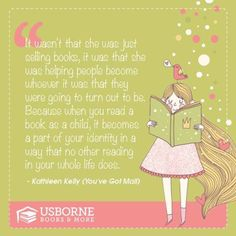 Looking for an amazing opportunity to work with an award winning children's book publishing company and build your own children's library for free?  I'd love to have you on my team, join Usborne today!