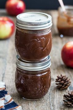 Slow Cooker Apple Butter gives you amazing apple butter for bread, biscusits, and just about anything else. Fantastic!