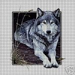 Wolf Square Crochet Pattern                                                                                                                                                                                 More