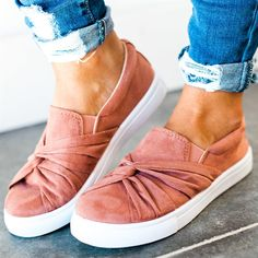 Knot Top Sneakers   3 Colors