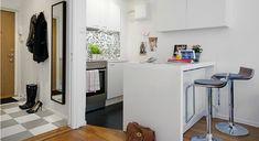 Дизайн квартир с малыми габаритами в Швеции - квартира 27 кв м