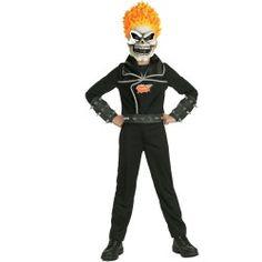 Super cool kids Ghost Rider Child Costume