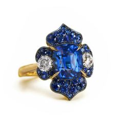 @betteridge1897 our one of a kind, handmade natural sapphire ring.