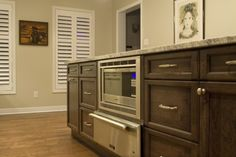 Hide your microwave - Copperstone Kitchens