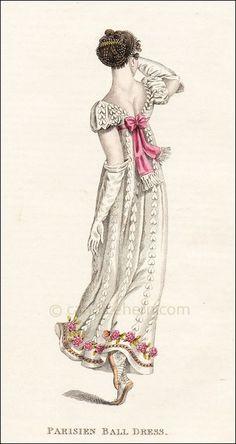 Ball dress fashion plate, 1811.