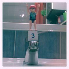 Playmobil nadadora