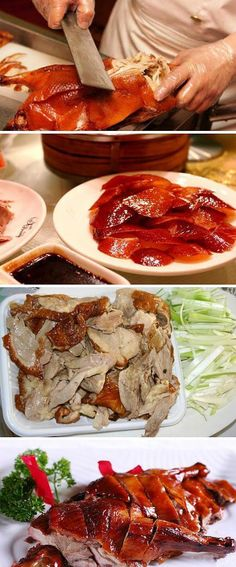 Peking duck. If you want to try roast duck, Beijing is the best place in the world.